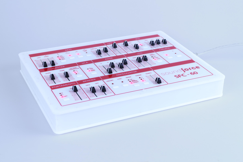 sfc 60 midi controller diy kit soundforce. Black Bedroom Furniture Sets. Home Design Ideas